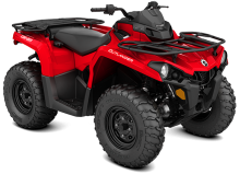 Квадроцикл BRP Can-Am Outlander 450 STD Red
