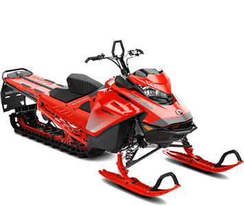 Снегоход BRP Ski-Doo Summit SQUARE X 154 Red Shot Sea-Level 2