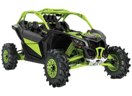 Квадроцикл Can-Am MAVERICK X MR TURBO RR 1